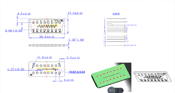 PCB Connector Drawings from the company of China